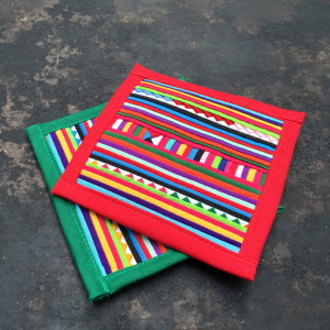 Ethnic Tribal Colored Coasters1