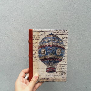 Sail The Globe Handbinded Journal1